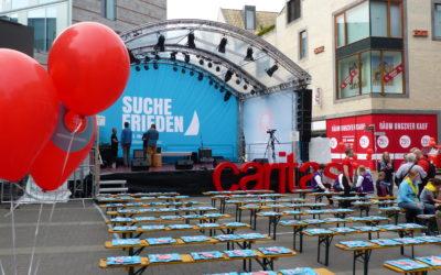 Caritas-Bühne Katholikentag 2018